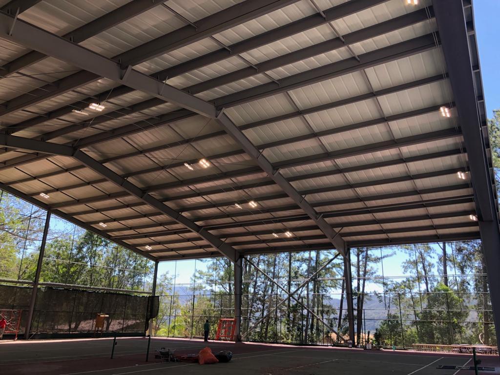 SCE - Proyecto Techado e Iluminación Cancha de Tenis